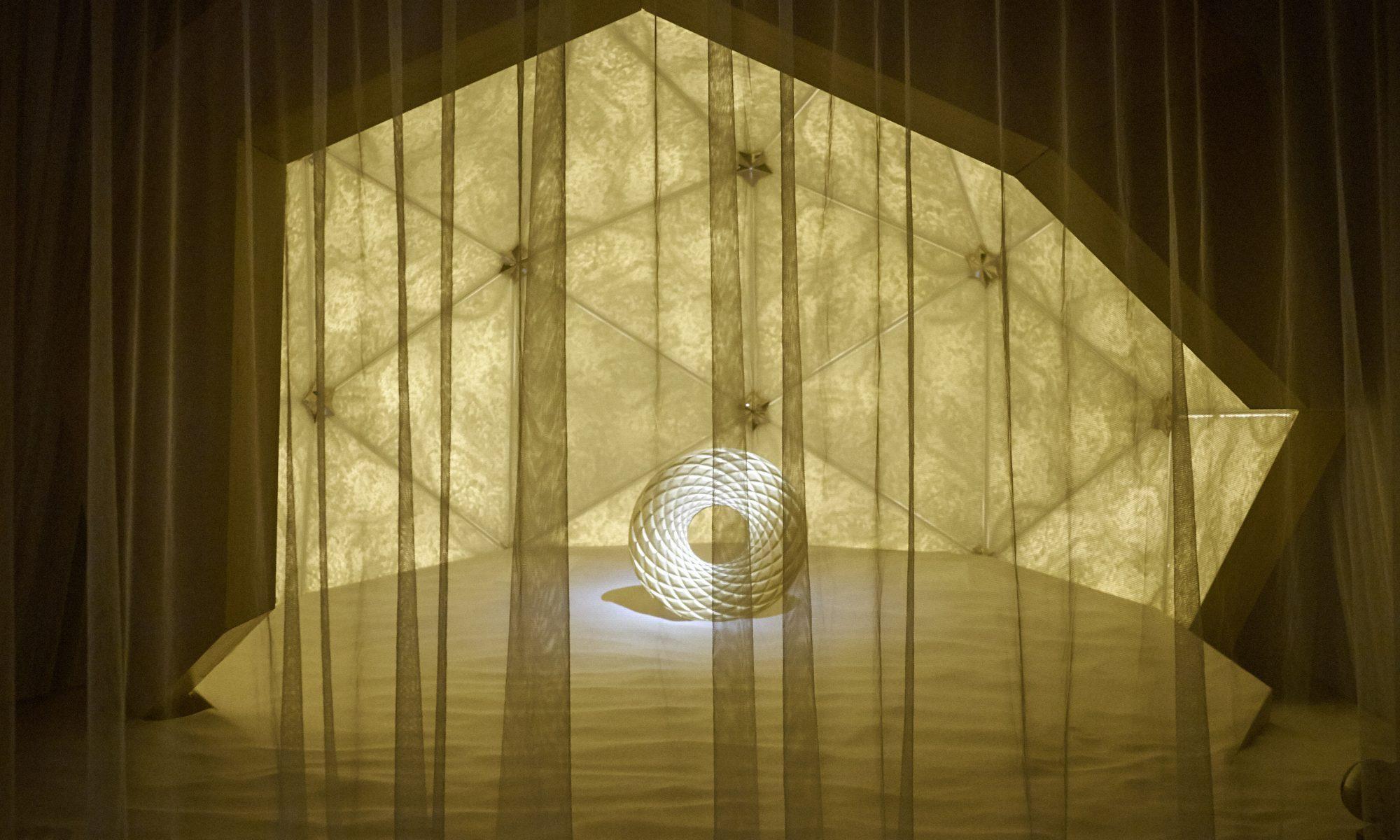 cercle doré-mandala-comme une crèche
